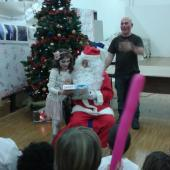 Babbo Natale e giovannini